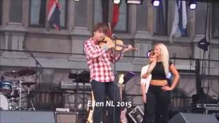 Alexander Rybak ~ Roll with the wind - Official Live video from 2015