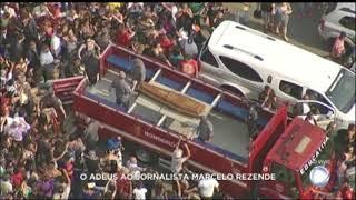 Presidente Michel Temer lamenta morte de Marcelo Rezende em nota oficial