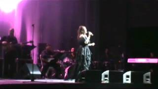 Angela Carrasco - Cariño mio - live - 14 febrero 2012- Lima Peru - C.C. Maria Angola