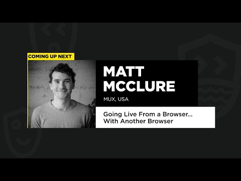 Going Live from a Browser… with Another Browser