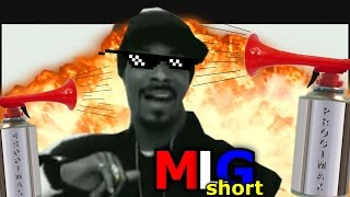 MLG SNOOP DOGG - DROP IT LIKE IT'S HOT (short)