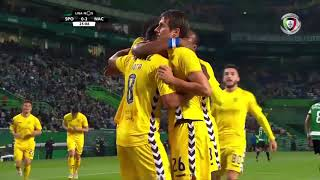 Goal | Golo Palocevic: Sporting 0-(2) Nacional (Liga 18/19 #13)