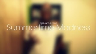 A Late 'Summertime Madness' Book Tag
