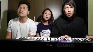 What A Beautiful Name - Hillsong (Cover by Donny Pangilinan, Hannah Pangilinan, & RJ dela Fuente)