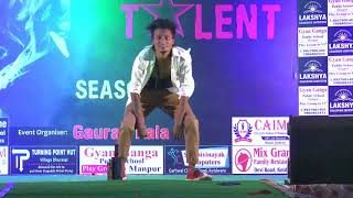 Arush d-phonex ! Solo performance | kotdwara got talent