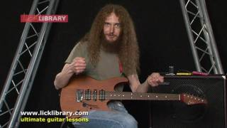 Guthrie Govan - Instrumental Song Writing - Session 1 Licklibrary