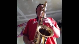 Joe Cocker - Unchain my heart (sax solo)