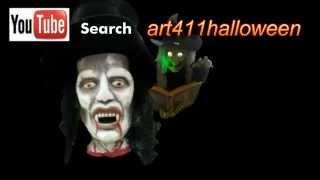 Halloween video Scary sounds Screensavers scary soundtrack advertisment | art411adv™