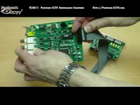 Install Optional I/O Cards for Alarm and Home Automation with Alnet DVR Systems