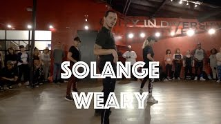 Solange - Weary   Hamilton Evans Choreography