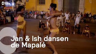 Jan & Ish dansen Mapalé in Cartagena | Dance Around The World