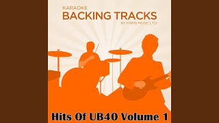 Please Don't Make Me Cry (Originally Performed By UB40) (Karaoke Version)