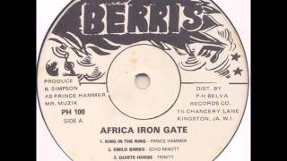 Prince Hammer - King In A The Ring - LP Berris 1982 - KILLER ROOTS RUB-A-DUB 80'S DANCEHALL