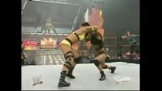 720pHD: WWE Raw 04.26.04: Lita & Victoria vs  Molly Holly & Gail Kim width=