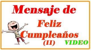 Mensajes de Feliz Cumpleaños | Frases de Cumpleaños