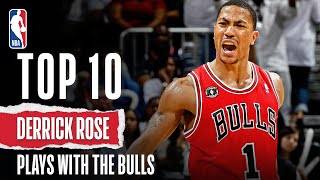 Derrick Rose's Top 10 Plays With The Bulls
