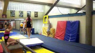 Treino de ginastica Olimpica '-'  Solo
