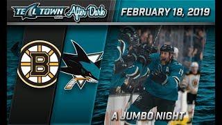 Teal Town After Dark (Postgame) - Sharks vs. Bruins - 02/18/2019