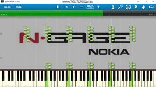 Nokia N-Gage ringtones on synthesia