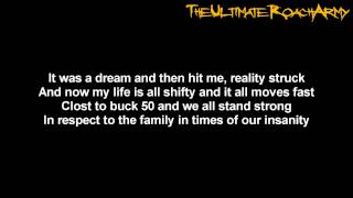 Papa Roach - Blood Brothers {Lyrics on screen} HD