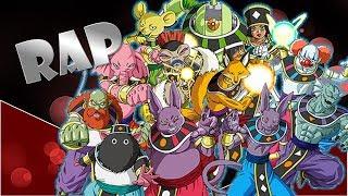 12 dioses de la destruccion // Rap de personajes // by Raziel