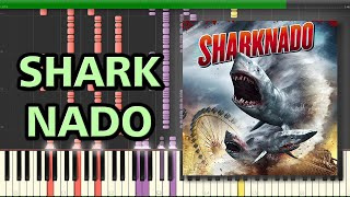 The Ballad of Sharknado - Quint | Synthesia Piano Tutorial