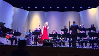 Fly Me To The Moon - Longwood University's Jazz A with soloist Roxanne Cook