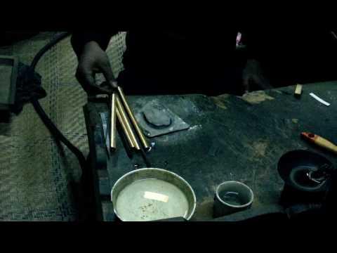 Bogra jewelers working.MOV