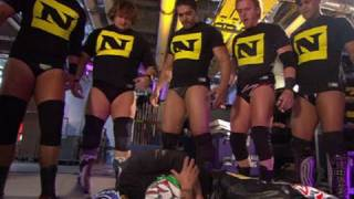 SmackDown: The Nexus attacks Rey Mysterio, MVP and Kaval