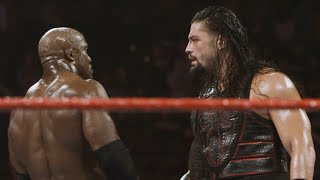Relive the ferocity of Reigns and Lashley's brutal Raw main event: WWE Exclusive, July 27, 2018