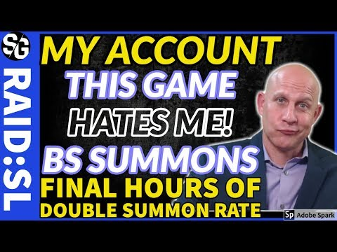 RAID SHADOW LEGENDS | THIS IS BS! STEW ACCOUNT SUMMONS | YEET!