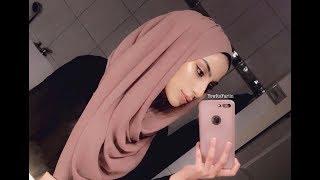 Easy Hijab Style for 2018! | Chiffon Scarf Tutorial