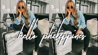 PHILIPPINES VLOG: HELLO MANILA || FarinaVlogs