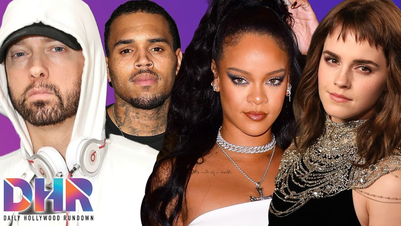 Rihanna Fans drag Eminem over Chris Brown comments! Emma Watson shocks Fans with Dating Status