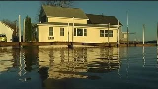 Sodus Residents Deal with Flooding, High Lake Water Levels
