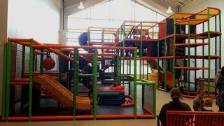 Tour of Indoor Playground at Cornerstone Lutheran Church | Originally on Broadcast on Facebook Live