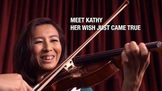 SG50 Wishes - Kathy's wish came true