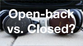 "Open-back vs Closed-back headphones? (4K) -  Part 2/5 - ""All About Headphones"""