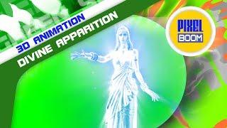 Green Screen Ghost Goddess Divine Apparition - Footage PixelBoom