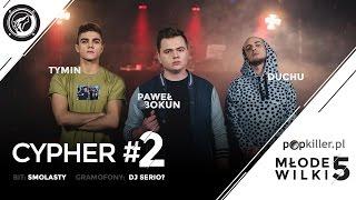 Tymin, Paweł Bokun, Duchu - Popkiller Młode Wilki 5 - Cypher #2 (prod. Smolasty)