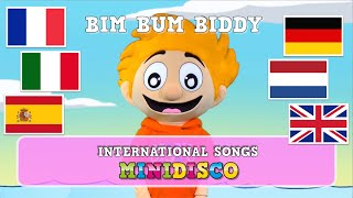 Bim Bum Biddy | kinderliedjes | children's songs | kids dance songs by Minidisco