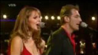 ISABELLE A & ROB VANOUDENHOVEN  - DEMASIADO CORAZON -  LIVE