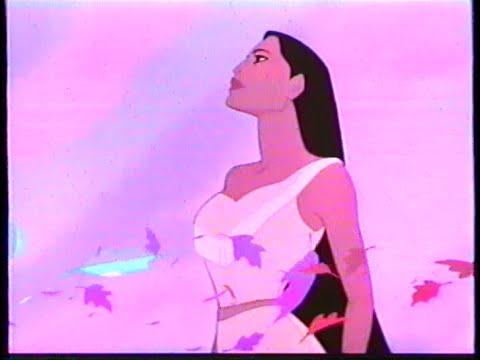 Pocahontas (1995) Trailer 2 (VHS Capture)