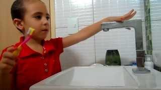 Como escovar os Dentes com Ana Luisy - Familia Rocha