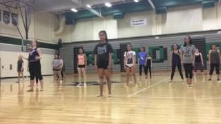 Dance tryouts 2016: Halsey - Castle