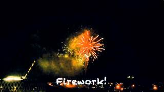Cause baby you're a firework!