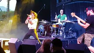 Jinjer -Pisces (leyendas del rock 2018)