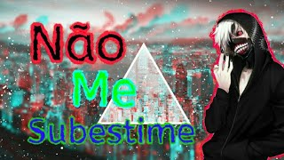 (Tipografia no Android)Player Tauz-Não Me Subestime (Rap Do Kaneki)