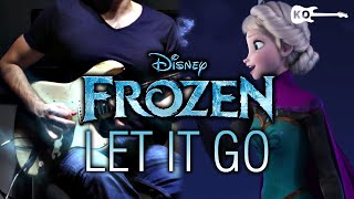 Frozen - Let it Go - Electric Guitar Cover by Kfir Ochaion