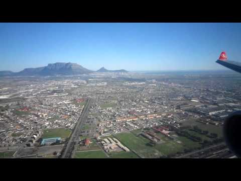 Turkish Airlines A330-300 Landing Cape Town South Africa #5
